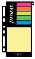Filofax barevné lepící papírky A7